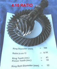 BMW E30 E36 188mm Differential *4.10 Ratio* Ring & Pinion Gears Medium Case LSD
