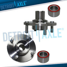 Pair Front Wheel Bearing Hub Assembly For 2001 2010 2011 Ford Focus 4lugs With Abs
