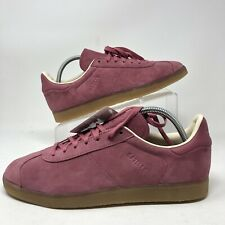 Adidas Originals Gazelle BD7489 Trace Maroon Suede/Nubuck Upper and Gum Sole 9