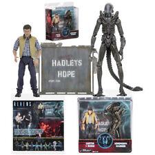 NECA Aliens Hadleys Hope Carter J. Burke VS Xenomorph Warrior Figurine Model Set