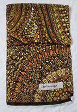 Superbe Etole  BALENCIAGA Paris en laine vintage scarf  40 cm x 180 cm