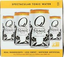 Q DRINKS-TONIC WATER 4 PACK, Pack of 3 ( 4/7.5 FL OZ )
