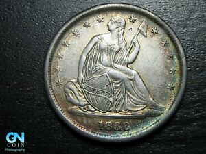 1838 P Seated Liberty Dime --  MAKE US AN OFFER!  #B9283