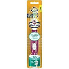 ARM & HAMMER Spinbrush Pro White Ultra Series  Toothbrush Soft Colors Vary