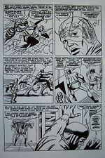 Original Production Art AVENGERS #2, page #15, JACK KIRBY art, Giant-Man