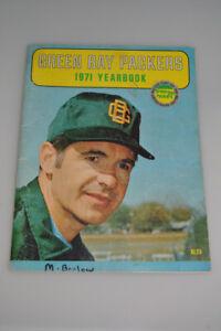 Vintage 1971 Green Bay Packers Yearbook Football Program NFL Dan Devine Starr