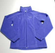 Columbia Kids 14/16 Blue Zip Front Fleece Jacket