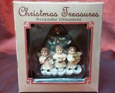 Christmas Treasures Keepsake Ornament 3 Angels Playing Music by C. R. Gibson