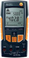 Testo - 760-3 - DIGITAL MULTIMETER, TRMS