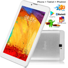 """7.0"""" Phablet Android 9.0 Pie 4G LTE SmartPhone TabletPC Google Play Store White"""