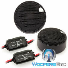 "JL AUDIO C3-100CT 1"" EVOLUTION CAR COMPONENT TWEETERS & INLINE CROSSOVERS NEW"