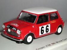 Voitures de rallye miniatures blancs Spark