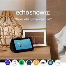NEW! Amazon Echo Show 5 (Charcoal) 5.5