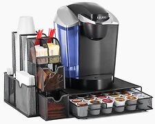 Halter All In One Mesh Coffee Organizer,Condiment Caddy Organizer&Heat Resistant