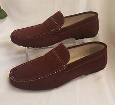 Herren Junge Schuhe Mokassins Made Italy 99€ Gr 43 Bordeaux slippers