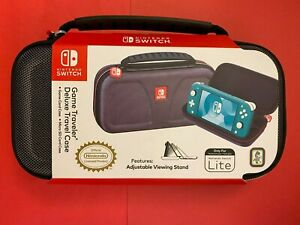 NEW: Game Traveler Deluxe Travel Case for Nintendo Switch LITE (RDS Industries)