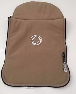 Bugaboo Cameleon Stroller Bassinet Apron Fleece Baby CarryCot Cover Tan Beige
