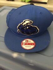 TRENTON THUNDER - New Era 9Fifty Azure Blue Snapback Baseball Hat Cap