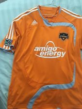 HOUSTON DYNAMO USA 2009/2010/2011 HOME FOOTBALL SHIRT JERSEY ADIDAS