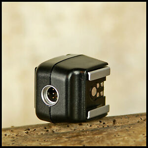 Genuine CANON EOS TTL Flash Off Camera Shoe OA Adaptor 35mm Film NOT DIGITAL