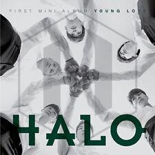 HALO [YOUNG LOVE] 1st Mini Album CD+FotoBuch K-POP SEALED