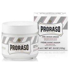 Proraso White Pre-Shave Cream For Sensitive Skin 100ml