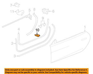 JAGUAR OEM 14-18 F-Type Door-Lock Plate Cover Screw C2D4815