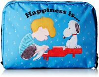 LeSportsac X Peanuts Snoopy Extra Large Rectangular Cosmetic Bag in Sing Along
