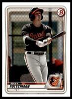 2020 Bowman Paper Prospects I #BP-50 Adley Rutschman - Baltimore Orioles