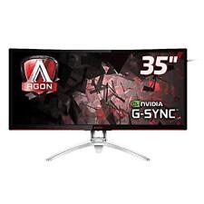 "AOC Gaming Agon Series AG352UCG 35"" LCD Monitor 100hz Curved 3440 X 1440 MVA 300"