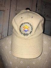 Olympic Winter Games Salt Lake City Utah 2002 Hat Cap Adjustable
