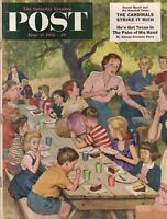 1953 Saturday Evening Post June 27 - Bakersfield Earthquake; St. Louis Cardinals