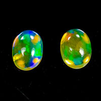 Gemstone Jewelry Natural 1.05 Ct.Cabochon Multi-Color Opal Ethiopia/ S3434