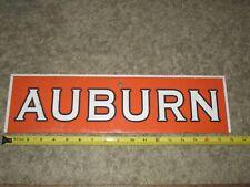 Auburn University Tigers sign - football stadium or other sports venue