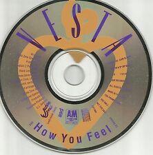 VESTA Williams How You Feel RARE 1TRK PROMO Radio DJ CD single 1989 USA MINT