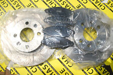 Nissan Kubistar 03-10 With ABS 259mm Front Brake Discs And Pads