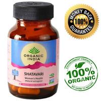 Organic Shatavari Powder Capsules For Women's Health Natural Estrogen 400mg