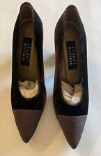 "Stuart Weitzman 3"" Heels Brown Velvet Dress Shoes Size 6 B. Brand New W/out Box"