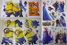 Frozen Minion Wall Decal Set Kids room Special 3 Piece Disney Set