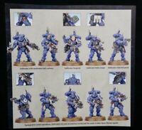 Warhammer 40K Primaris Infiltrators Vanguard 10 Space Marines Shadowspear