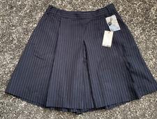 BNWT Paul Smith Black Label Navy Pinstriped Wool Skirt Size IT 44 / UK 12