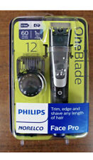 Philips Norelco OneBlade Face Pro Rechargeable Razor Trimmer Shaver QP6520/70