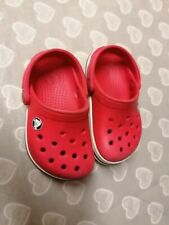 Unisex toddler Crocs Red Size 4 5