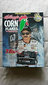 Dale Earnhardt 7 Time Champion Kellogg's Commemorative Corn Flakes Full Box