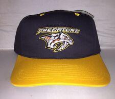 Vtg Nashville Predators Snapback hat cap rare 90s NWT NHL Hockey Ds Cup Fisher