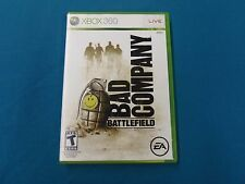 Bad Company Battlefield (Xbox 360) Video Game Released 2008 EA Digital