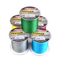 300M PE Braided Extreme Super Strong Dyneema Spectra Sea Fishing Line 4 Stands