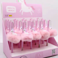 Unicorn Flamingo Ballpoint Gel Pen Ball Pencil Student School Office Supply Kids