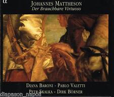 Mattheson: Der Brauchbare Virtuoso, 12 Sonate / Baroni, Valetti, Skalka, Born CD