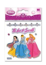 Disney MULTIPLE PRINCESS Jewels 3d Scrapbook Stickers